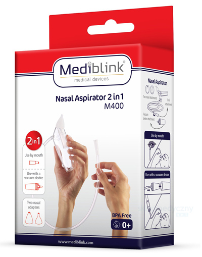 Mediblink M400 Aspirator 2w1