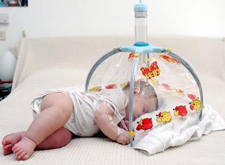 Baby Air namiot inhalacyjny z nebulizatorem