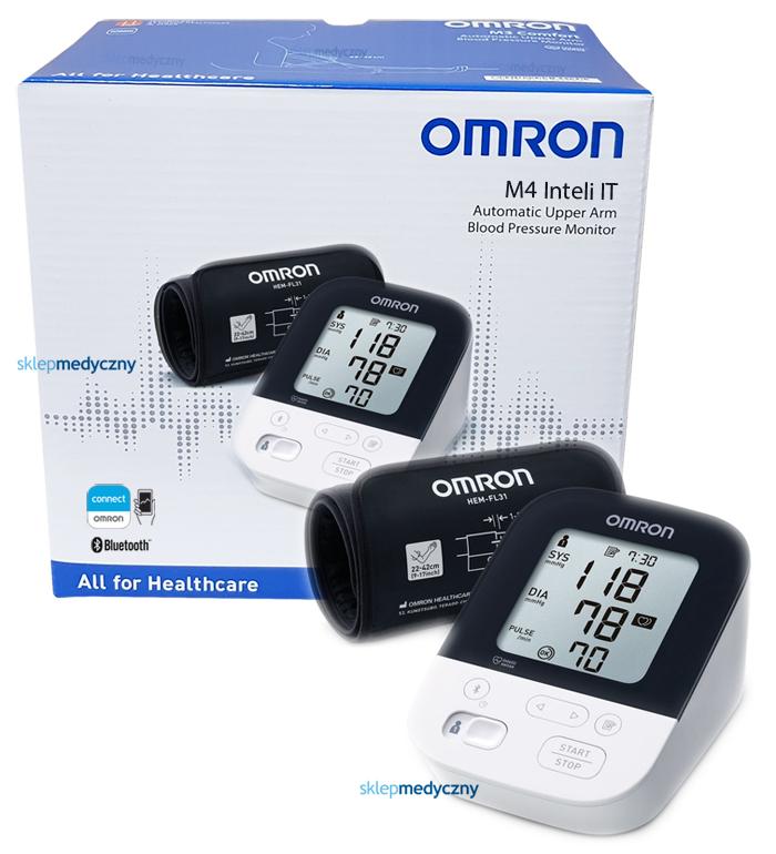 Ciśnieniomierz Omron M4 Intelli IT HEM-7155T-EBK