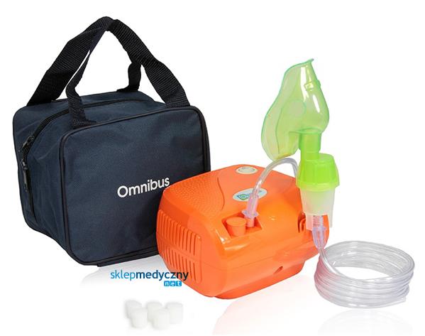 Inhalator tłokowy OMNIBUS BR-CN116 pomarańczowy