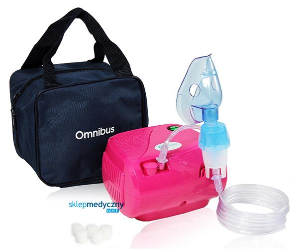 Inhalator tłokowy OMNIBUS BR-CN116 różowy