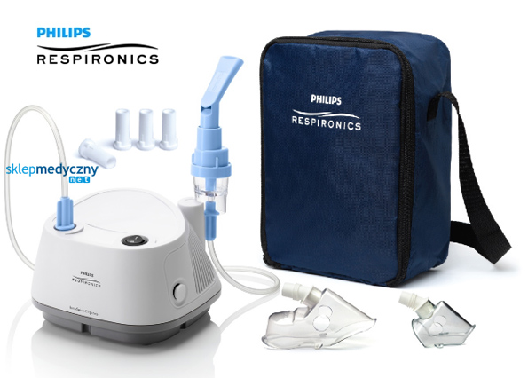 Inhalator pneumatyczno-tłokowy Philips Respironics InnoSpire Elegance