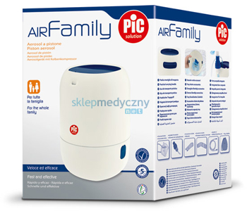 Inhalator tłokowy PIC Solution AiR Family II