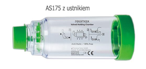 Komora inhalacyjna Rossmax AS175 z ustnikiem