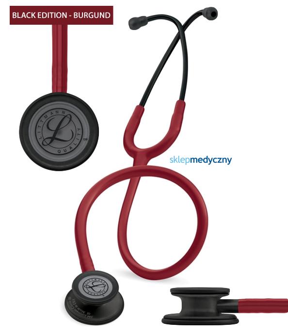 Stetoskop Littmann Classic III Black Edition 5868 burgund