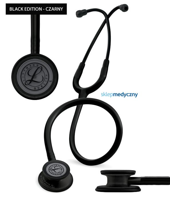 Stetoskop Littmann Classic III Black Edition 5803 czarny