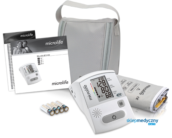 ciśnieniomierz mówiący microlife A130 zestaw