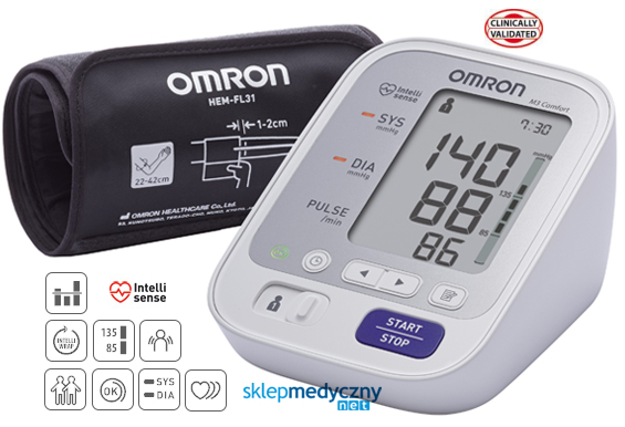 Nowość 2016! Ciśnieniomierz Omron M3 Comfort HEM-7134-E