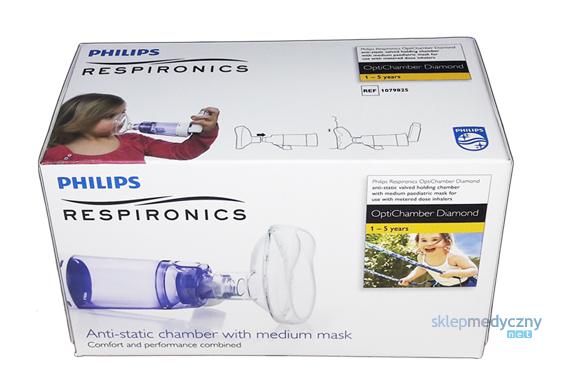 Komora inhalacyjna spejser Philips Respironics Optichamber Diamond