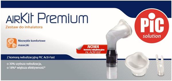 Akcesoria do inhalatora PIC Solution AiR PREMIUM