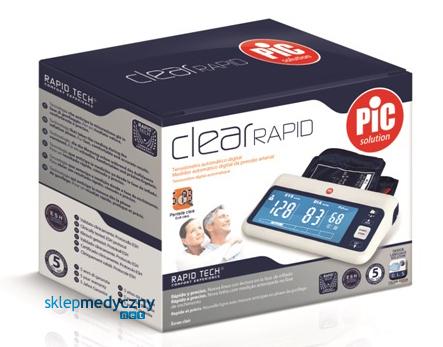 Ciśnieniomierz PIC Solution Clear RAPID