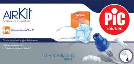 Zestaw akcesoriów Sidestream PiC Solution AIR KIT z maską 2w1