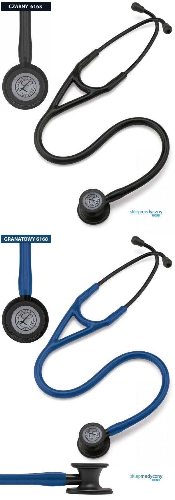 Stetoskop Littmann Cardiology IV Black Finish