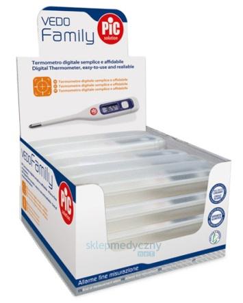 Termometr elektroniczny lekarski Pic Solution Vedo Family