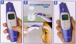 Bezdotykowy termometr Microlife NC 100